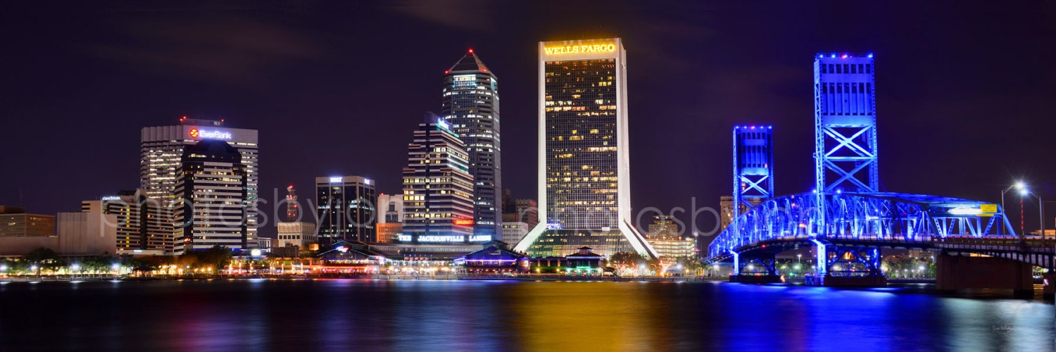 Image result for jacksonville skyline