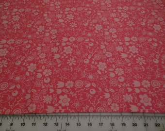Riley Blake Sunny Happy Skies Pink Cotton