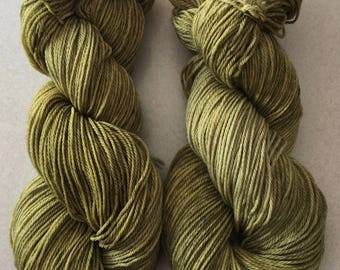 Hand Dyed Super wash Merino wool yarn