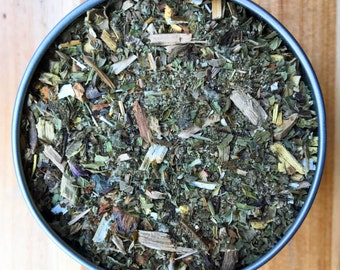 Hot Flash Tea - Organic Herbal Tea - Helps reduce the occurence and severity of hot flashes caused by menopause