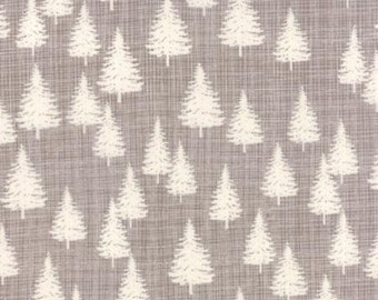 Winterberry Stone Winter Forest Trees by Kate Birdie Paper Co for Moda