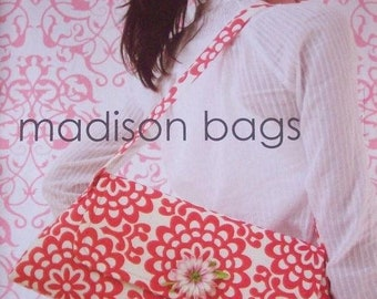 Amy Butler Patterns / Madison Bags / sewing Patterns / SHIPS FREE with Fabric Purchase Midwest Modern