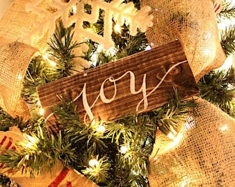 Rustic Christmas Ornament | Hand Painted Ornaments | Christmas Ornament | Rustic Christmas Decor | Holiday Decor | Rustic Decor