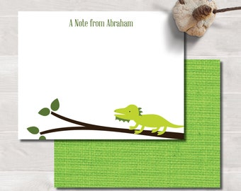 Kids Flat Notes, Iguana
