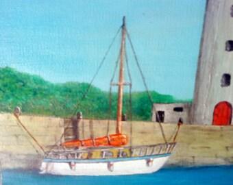 Small boat sailboat / sailing L x H 333 px px 422