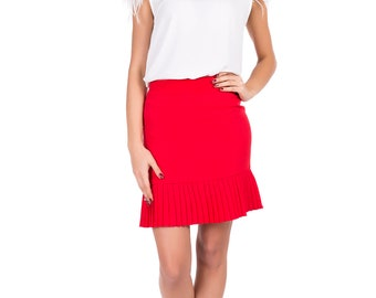 Short ladies skirt