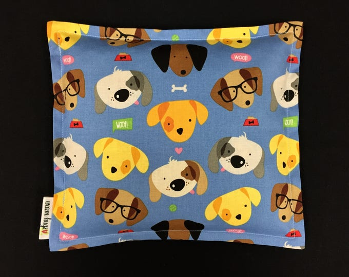 Kids Corn Bags, Heat Pack, Corn Heating Pad, Microwave Corn Bags, Heated Bag, Ice Pack, Relaxation Gift, Gift for Children, Puppy Dogs