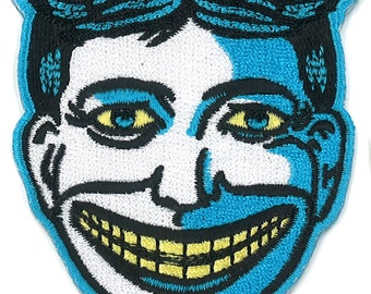 """3"""" Tillie Coney island Iron-On Patch Freak Show Circus Sideshow Spook Freakshow Carnival Horror New Jersey Fair Fish Fry Amusement Park Isle"""