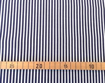 """Westphalia materials """"Hamburg"""" stripes white/blue"""