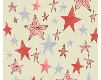 "Star Study in Pink 8x10"" print"