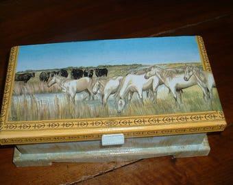Casket box storage - Camargue wild-
