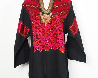 antique Traditional swat-vally Pakistan dress Late 19th or early 20th century no:18/1