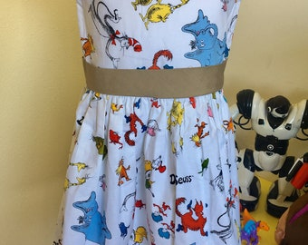 Dr Seuss dress (sz 6)