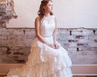 Lace Wedding Dress - Kiss Me Kate