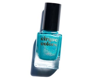 Cerrillos - Turquoise Holographic Nail Polish