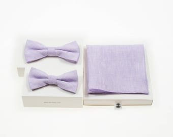 de MORÉ - lilac father and son set