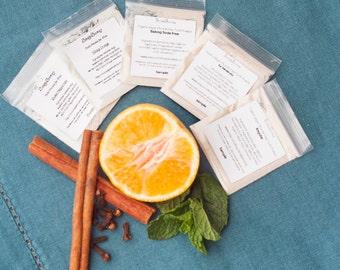 Tooth Powder Sample Pack Organic, Vegan, and Fluoride Free Remineralizing tooth powder