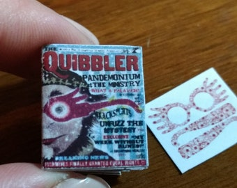 Dolls House 12th Scale Quibbler Magazine