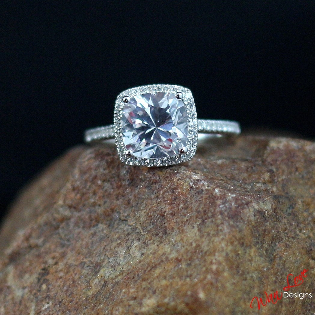 antique ring tsv engagement previous cushion cut rings product