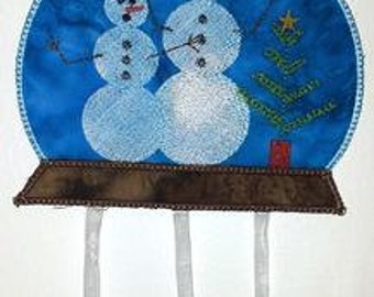 Seasonal Mobile - Winter  ( 5 Machine Embroidery Designs from ATW )