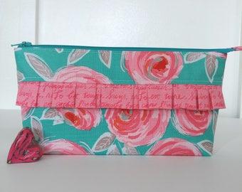Curiosities Fabric zipper pouch