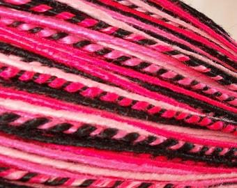 50 Custom Synthetic Dreads Dreadlock Hair Extensions or Dread Falls