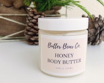 Honey Body Butter/ Body Lotion/ Body Cream/ Moisturizer