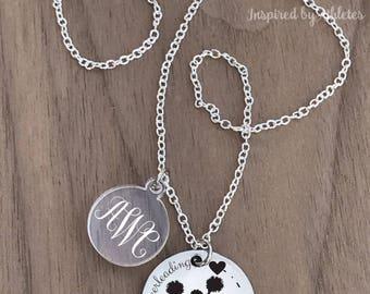 Cheerleading Necklace, Cheer Necklace, Cheer Necklaces for Girls, Cheerleader Necklace, Cheer Necklaces for Squad, Cheer Gifts,Cheering Gift