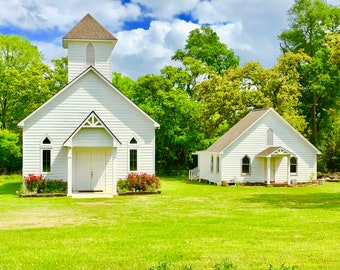 Beautiful Peaceful Church Photo Digital Download Jpeg
