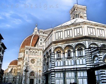 Florence travel Photography - Duomo - Renaissance Architecture - Wall Art - Home Decor