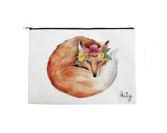 Cute Fox Pouch