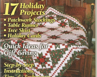 Quilt It For Christmas Magazine 2004