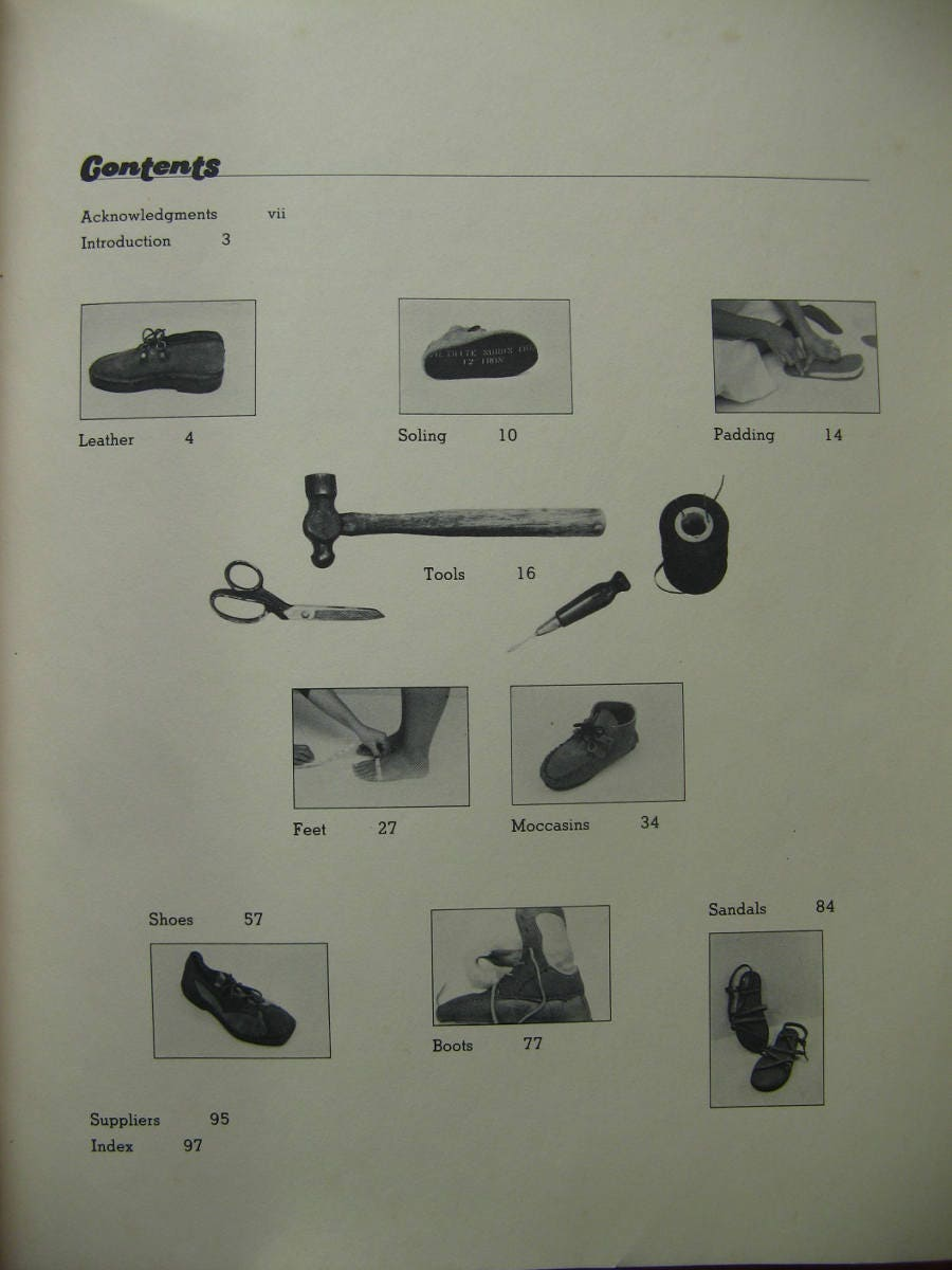 Make it yourself shoe book by christine lewis clark 1977 first 400 shipping solutioingenieria Gallery