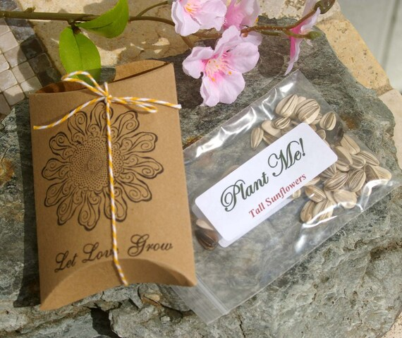 Stunning Sunflower Seed Wedding Favors Gallery - Styles & Ideas 2018 ...