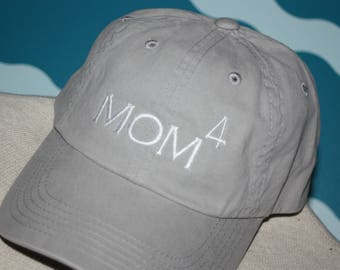 Mom Baseball Hat - Custom Mom ball Cap - Embroidered Mom Baseball Hat - Personalized Ball Cap - Mom Trucker Cap - Proud Mom