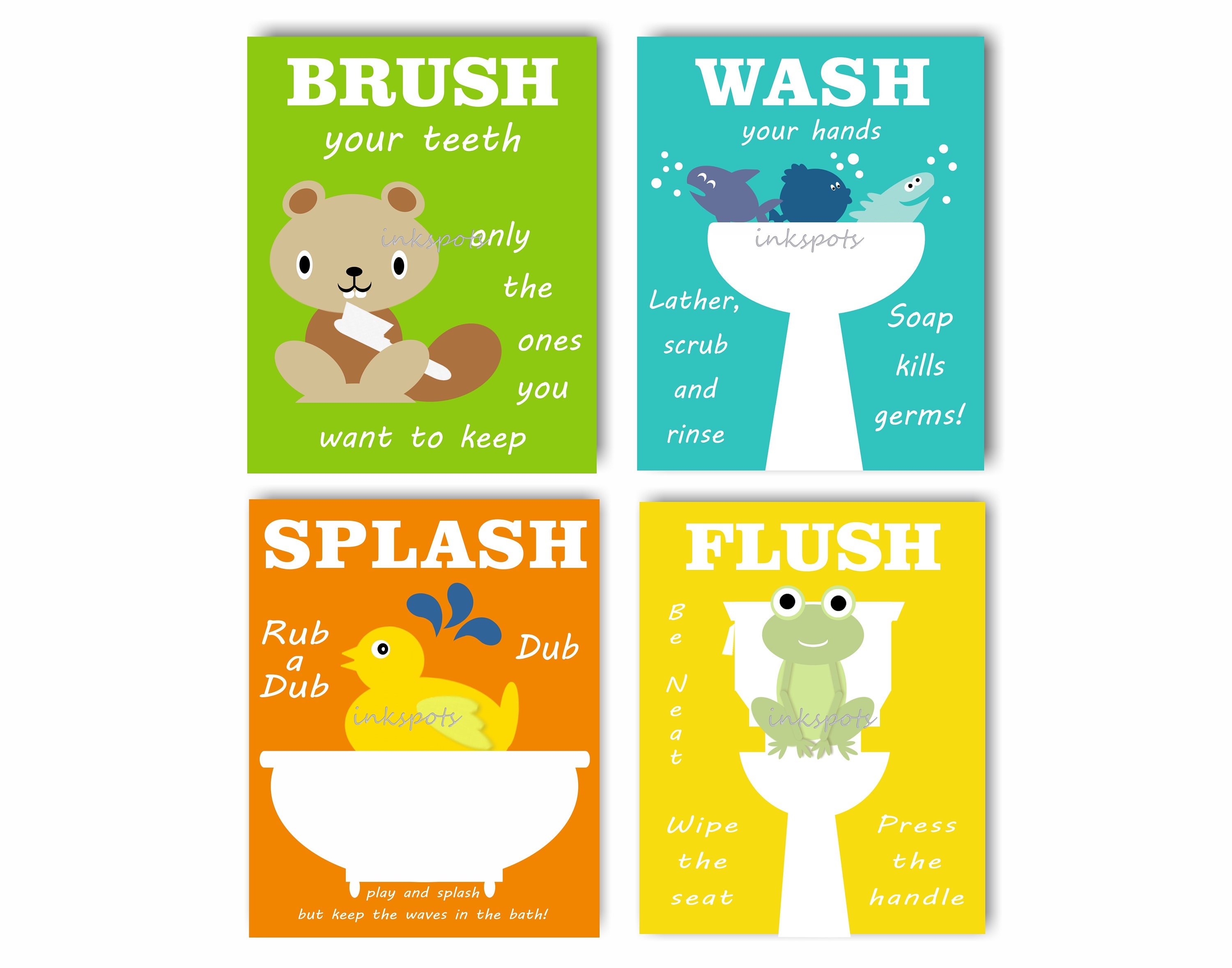 Best Wall Art For Kids Bathroom Images - The Wall Art Decorations ...