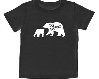 Big Brother with Little Bear T-shirt