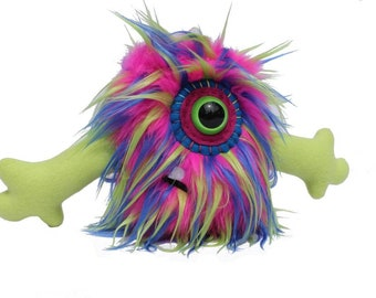 Stuffed animal monster, monster, stuffed animal, plushie, plush monster, toy toy monster