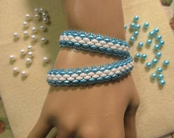 The Bluez Double Wrap Bracelet