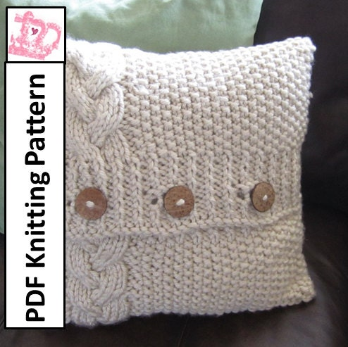 Cable Knit Cushion Pattern Free Images Knitting Patterns Free Download