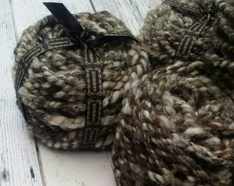 Jacob Blend, Bulky Weight, Handspun Yarn 100g, 3.5 ounces