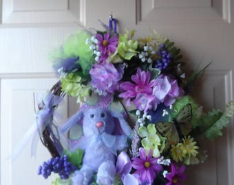 Easter/Spring Grapevine Wreath