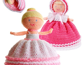 Crochet Topsy Turvy Doll pattern pdf