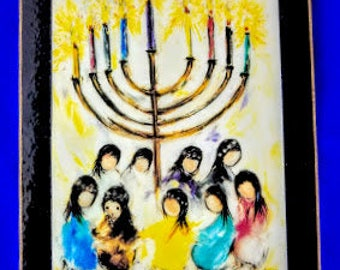 Hanukkah by Ted DeGrazia