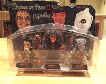 Cinema of Fear II Mez-Itz Leatherface Freddy Krueger Jason Voorhees