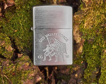 Zippo USS Valley Forge unfired