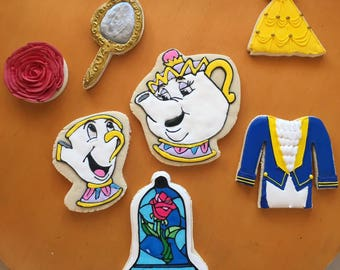 Beauty and the Beast Cookie Set