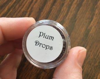 Plum Drops - Mineral Eye Shadow | Loose Pigment Powder | Biodegradable Glitter