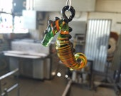Green & Orange Sea Horse ...