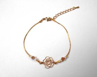 Swarovski adjustable - designer jewelery beads adjustable bracelet